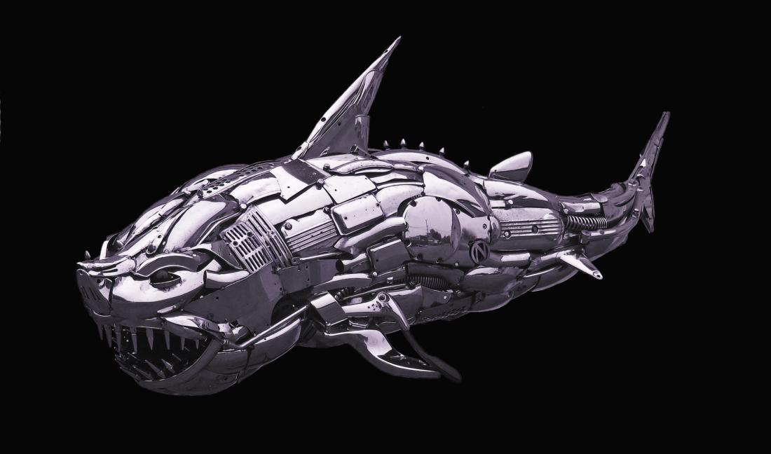 """""""Dakuwaqa - Fijian Shark God"""""""