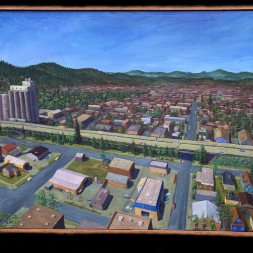 """Whiteaker Cityscape"""