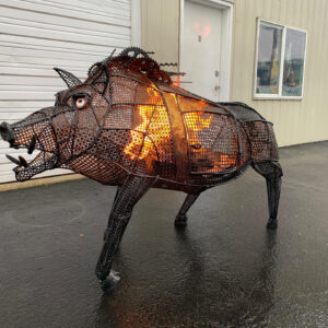 """Magera - The Flaming Boar"""