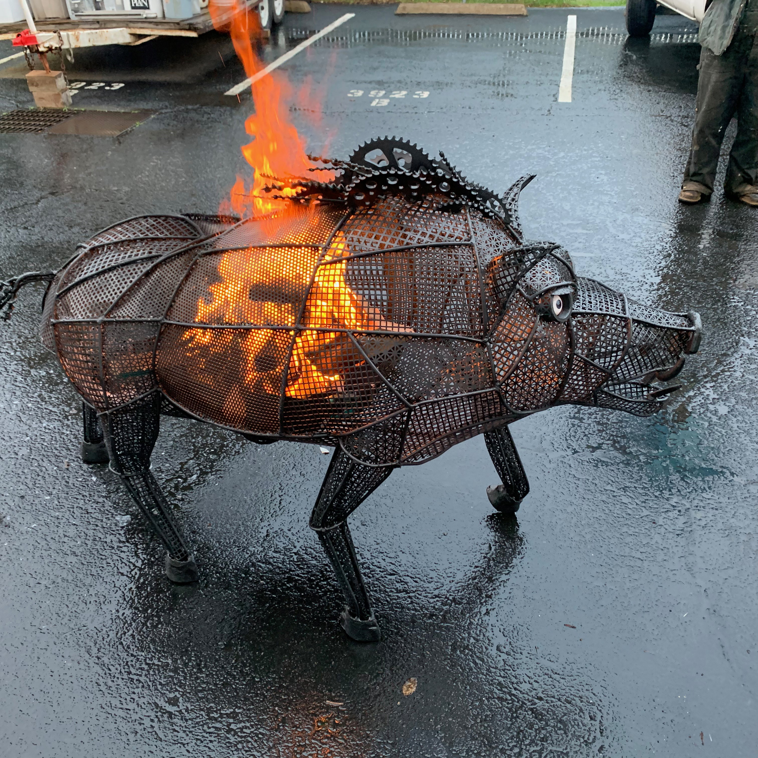 """""""Magera - The Flaming Boar"""""""
